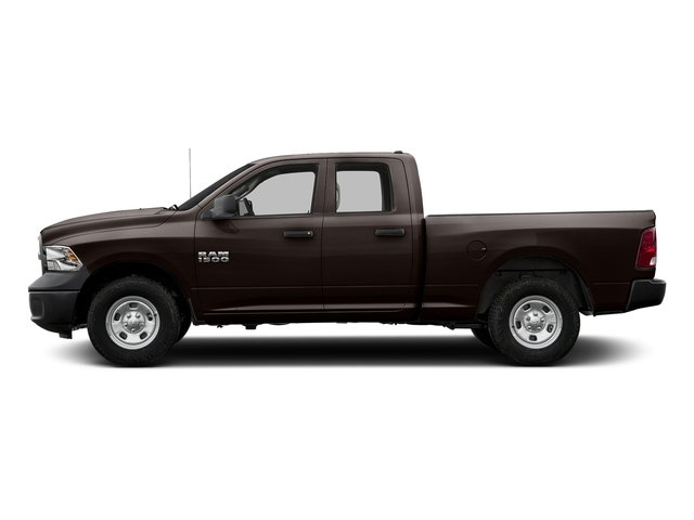 Luxury Brown Pearlcoat 2017 Ram Truck 1500 Pictures 1500 Quad Cab Express 2WD photos side view