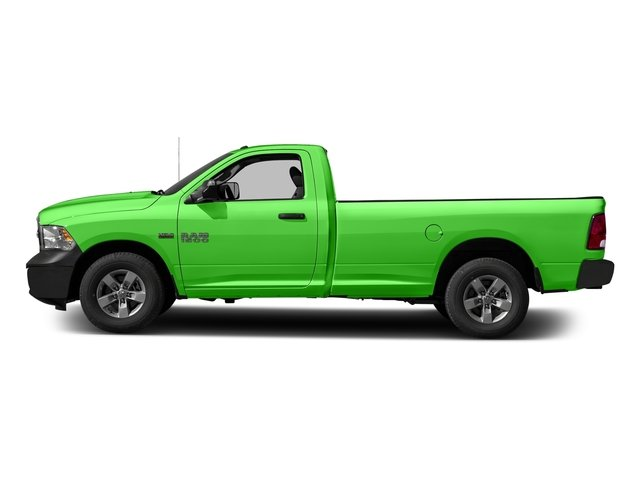 Hills Green 2017 Ram Truck 1500 Pictures 1500 Lone Star 4x2 Regular Cab 6'4 Box photos side view