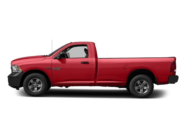 Bright Red 2017 Ram Truck 1500 Pictures 1500 Regular Cab Bighorn/Lone Star 4WD photos side view