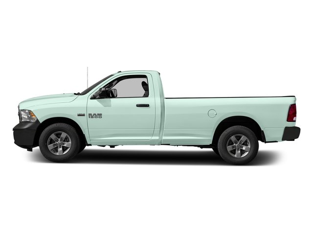 Robin Egg Blue 2017 Ram Truck 1500 Pictures 1500 Regular Cab Bighorn/Lone Star 4WD photos side view