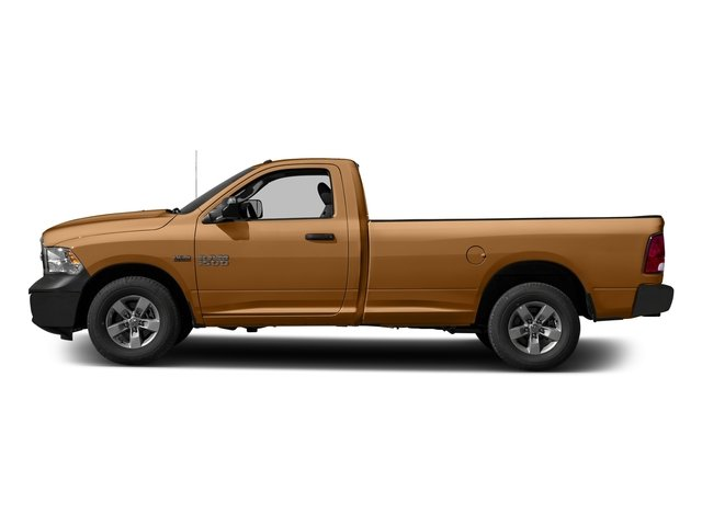 Power Tan 2017 Ram Truck 1500 Pictures 1500 Lone Star 4x2 Regular Cab 6'4 Box photos side view