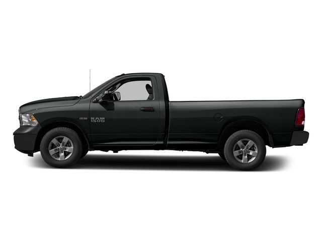 Maximum Steel Metallic Clearcoat 2017 Ram Truck 1500 Pictures 1500 Lone Star 4x2 Regular Cab 6'4 Box photos side view