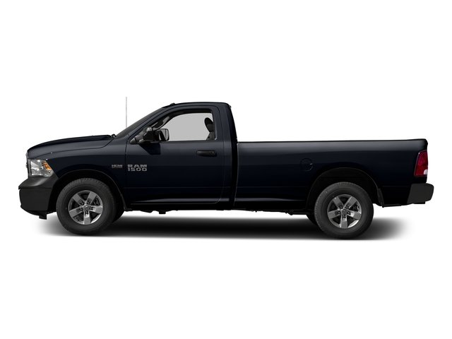 Midnight Blue Pearlcoat 2017 Ram Truck 1500 Pictures 1500 Lone Star 4x2 Regular Cab 6'4 Box photos side view