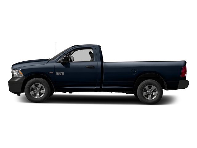True Blue Pearlcoat 2017 Ram Truck 1500 Pictures 1500 Lone Star 4x2 Regular Cab 6'4 Box photos side view