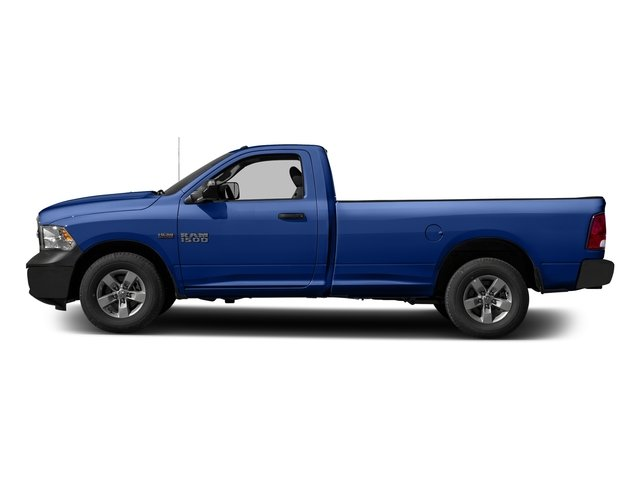 Blue Streak Pearlcoat 2017 Ram Truck 1500 Pictures 1500 Regular Cab Bighorn/Lone Star 2WD photos side view