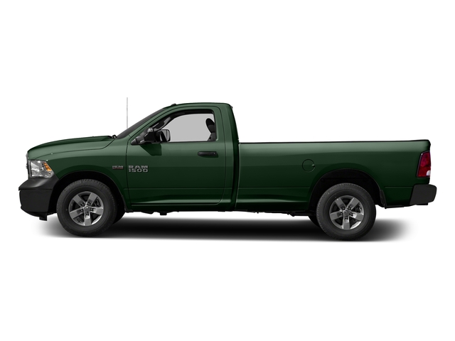 Timberline Green Pearlcoat 2017 Ram Truck 1500 Pictures 1500 Regular Cab Bighorn/Lone Star 4WD photos side view