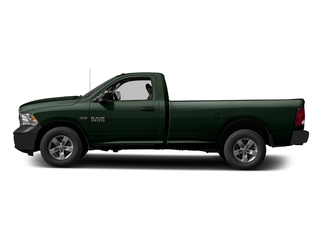 Black Forest Green Pearlcoat 2017 Ram Truck 1500 Pictures 1500 Regular Cab Bighorn/Lone Star 2WD photos side view