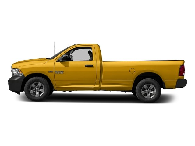 School Bus Yellow 2017 Ram Truck 1500 Pictures 1500 Lone Star 4x2 Regular Cab 6'4 Box photos side view
