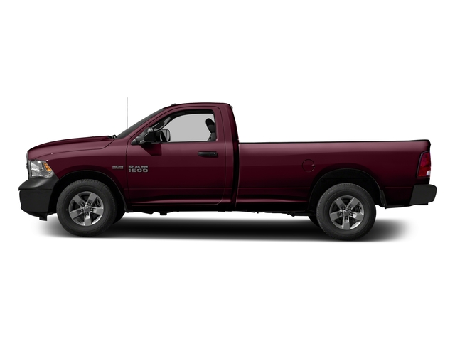 Delmonico Red Pearlcoat 2017 Ram Truck 1500 Pictures 1500 Lone Star 4x2 Regular Cab 6'4 Box photos side view