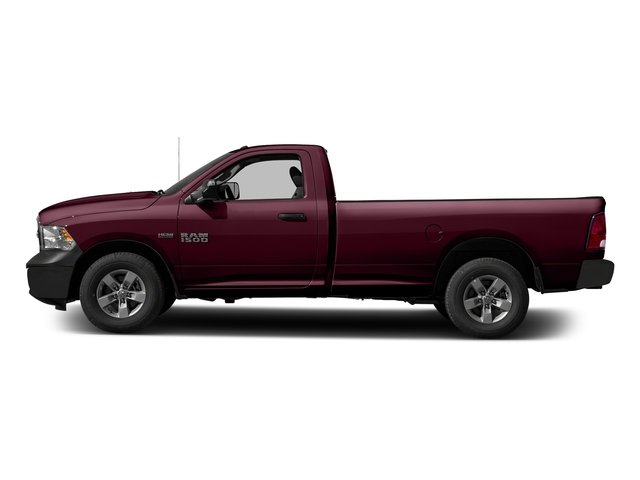 Delmonico Red Pearlcoat 2017 Ram Truck 1500 Pictures 1500 Regular Cab Bighorn/Lone Star 2WD photos side view