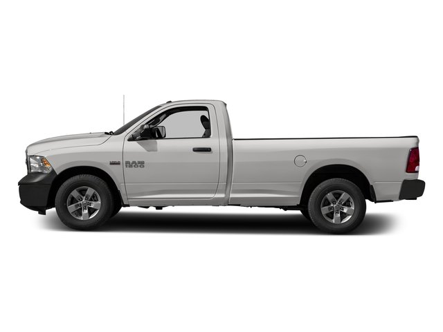 Bright Silver Metallic Clearcoat 2017 Ram Truck 1500 Pictures 1500 Regular Cab Bighorn/Lone Star 4WD photos side view