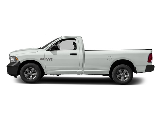 Bright White Clearcoat 2017 Ram Truck 1500 Pictures 1500 Regular Cab Bighorn/Lone Star 2WD photos side view