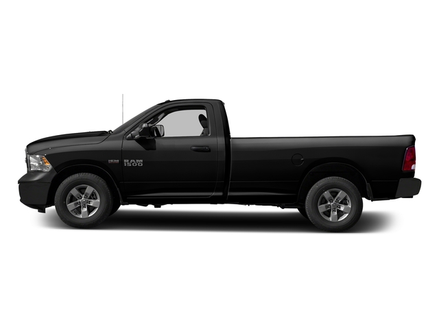 Brilliant Black Crystal Pearlcoat 2017 Ram Truck 1500 Pictures 1500 Regular Cab Bighorn/Lone Star 4WD photos side view