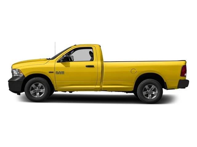 Detonator Yellow Clearcoat 2017 Ram Truck 1500 Pictures 1500 Regular Cab Bighorn/Lone Star 4WD photos side view