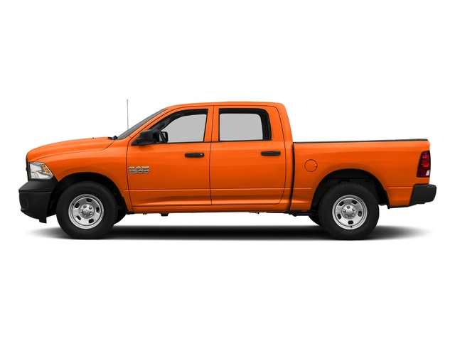 Omaha Orange 2017 Ram Truck 1500 Pictures 1500 Tradesman 4x4 Crew Cab 5'7 Box photos side view