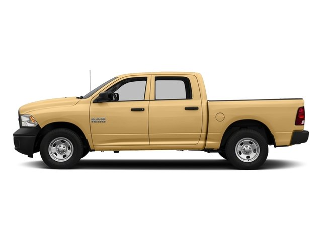 Light Cream 2017 Ram Truck 1500 Pictures 1500 Tradesman 4x4 Crew Cab 5'7 Box photos side view