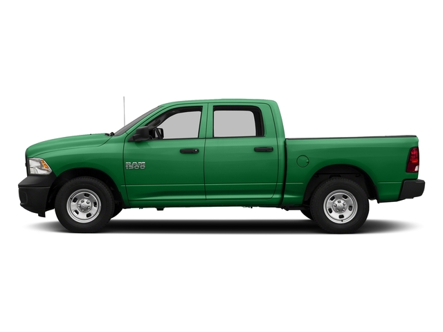 Bright Green 2017 Ram Truck 1500 Pictures 1500 Tradesman 4x4 Crew Cab 5'7 Box photos side view
