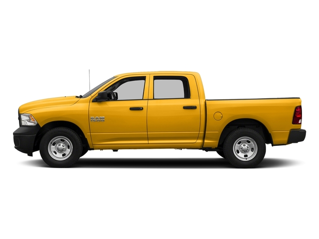 Construction Yellow 2017 Ram Truck 1500 Pictures 1500 Tradesman 4x4 Crew Cab 5'7 Box photos side view