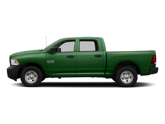 Tree Green 2017 Ram Truck 1500 Pictures 1500 Tradesman 4x4 Crew Cab 5'7 Box photos side view