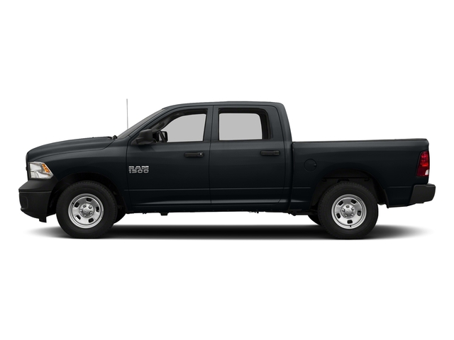 Maximum Steel Metallic Clearcoat 2017 Ram Truck 1500 Pictures 1500 Tradesman 4x4 Crew Cab 5'7 Box photos side view