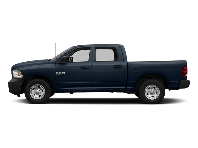 True Blue Pearlcoat 2017 Ram Truck 1500 Pictures 1500 Tradesman 4x4 Crew Cab 5'7 Box photos side view