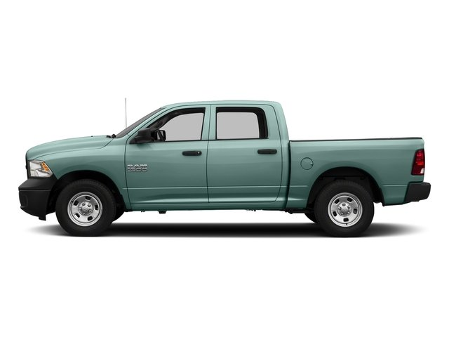 Light Green 2017 Ram Truck 1500 Pictures 1500 Tradesman 4x4 Crew Cab 5'7 Box photos side view