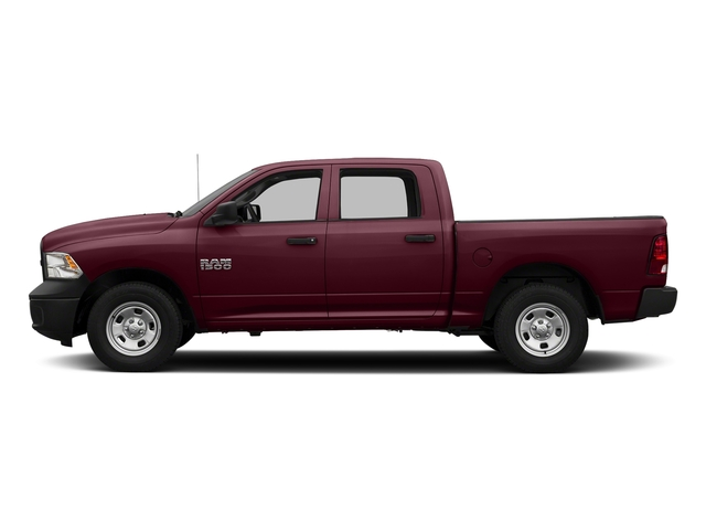 Delmonico Red Pearlcoat 2017 Ram Truck 1500 Pictures 1500 Tradesman 4x4 Crew Cab 5'7 Box photos side view