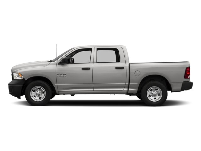 Bright Silver Metallic Clearcoat 2017 Ram Truck 1500 Pictures 1500 Tradesman 4x4 Crew Cab 5'7 Box photos side view