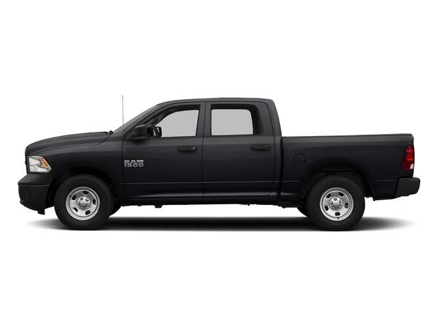 Black Clearcoat 2017 Ram Truck 1500 Pictures 1500 Tradesman 4x4 Crew Cab 5'7 Box photos side view