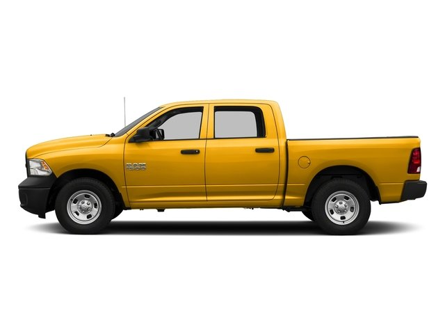 Detonator Yellow Clearcoat 2017 Ram Truck 1500 Pictures 1500 Tradesman 4x4 Crew Cab 5'7 Box photos side view