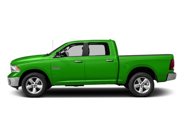 Hills Green 2017 Ram Truck 1500 Pictures 1500 Big Horn 4x2 Crew Cab 6'4 Box photos side view