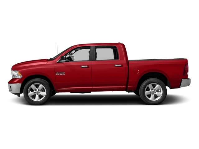 Bright Red 2017 Ram Truck 1500 Pictures 1500 Crew Cab SLT 4WD photos side view