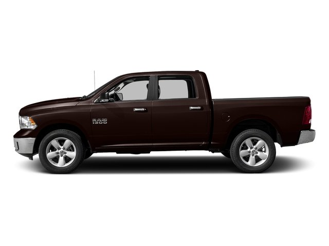 Dark Brown 2017 Ram Truck 1500 Pictures 1500 Big Horn 4x2 Crew Cab 6'4 Box photos side view