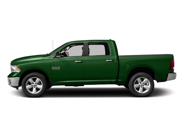 Tree Green 2017 Ram Truck 1500 Pictures 1500 Crew Cab SLT 4WD photos side view