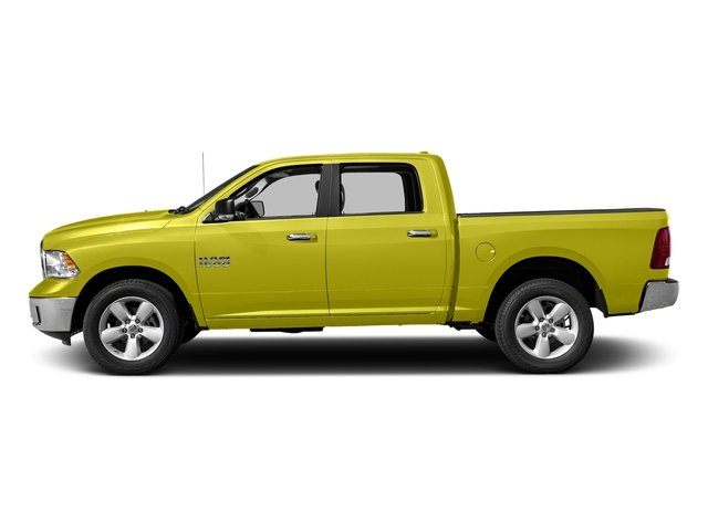 National Safety Yellow 2017 Ram Truck 1500 Pictures 1500 Crew Cab SLT 4WD photos side view