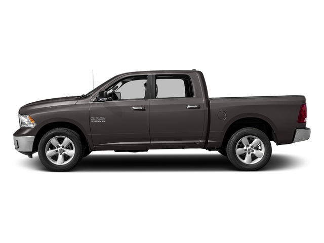 Granite Crystal Metallic Clearcoat 2017 Ram Truck 1500 Pictures 1500 Lone Star Silver 4x2 Crew Cab 5'7 Box photos side view