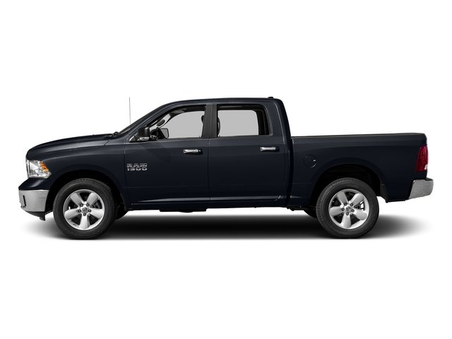 Midnight Blue Pearlcoat 2017 Ram Truck 1500 Pictures 1500 Lone Star Silver 4x2 Crew Cab 5'7 Box photos side view