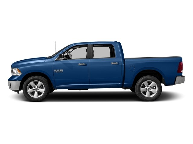 Blue Streak Pearlcoat 2017 Ram Truck 1500 Pictures 1500 Big Horn 4x2 Crew Cab 6'4 Box photos side view
