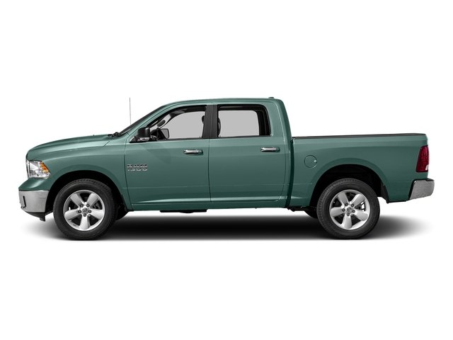 Light Green 2017 Ram Truck 1500 Pictures 1500 Big Horn 4x2 Crew Cab 6'4 Box photos side view