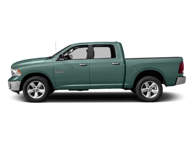 Light Green 2017 Ram Truck 1500 Pictures 1500 Crew Cab SLT 4WD photos side view