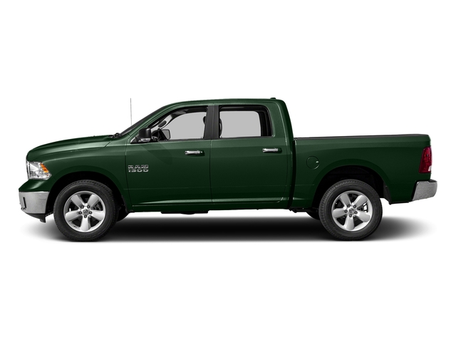 Timberline Green Pearlcoat 2017 Ram Truck 1500 Pictures 1500 Big Horn 4x2 Crew Cab 6'4 Box photos side view