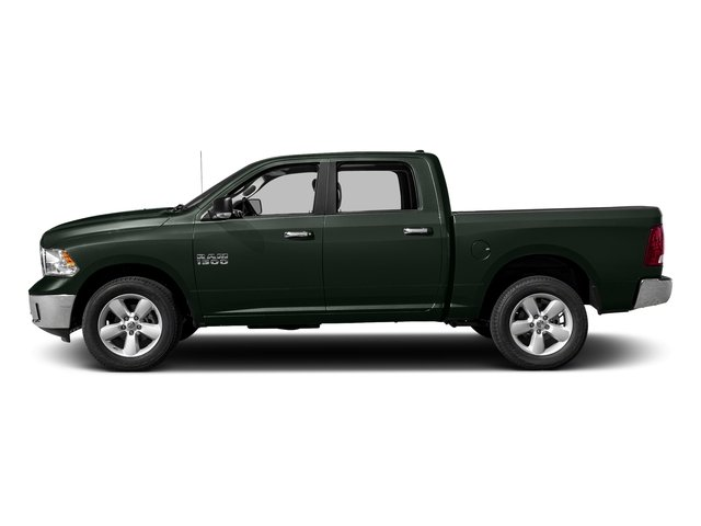 Black Forest Green Pearlcoat 2017 Ram Truck 1500 Pictures 1500 Crew Cab SLT 4WD photos side view