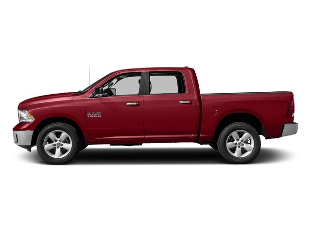 Flame Red Clearcoat 2017 Ram Truck 1500 Pictures 1500 Lone Star 4x4 Crew Cab 5'7 Box photos side view