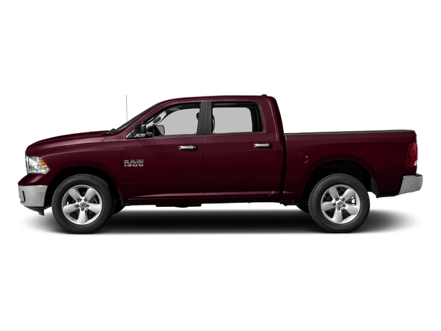 Delmonico Red Pearlcoat 2017 Ram Truck 1500 Pictures 1500 Big Horn 4x2 Crew Cab 6'4 Box photos side view