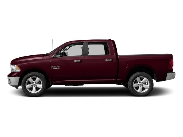 Delmonico Red Pearlcoat 2017 Ram Truck 1500 Pictures 1500 Crew Cab SLT 4WD photos side view