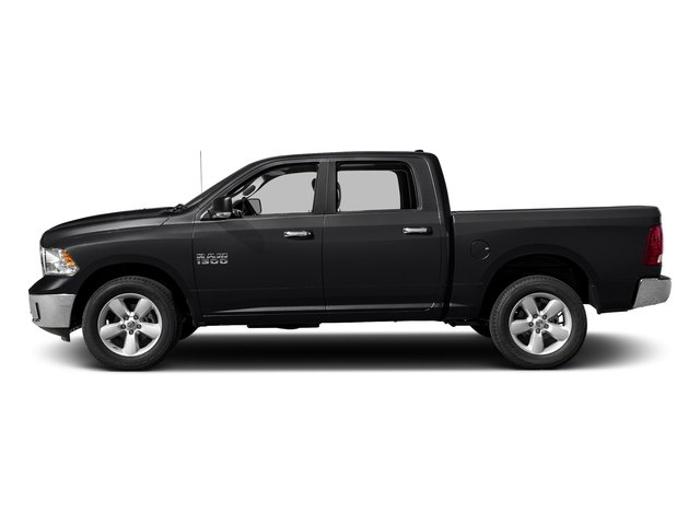 Black Clearcoat 2017 Ram Truck 1500 Pictures 1500 Lone Star 4x4 Crew Cab 5'7 Box photos side view