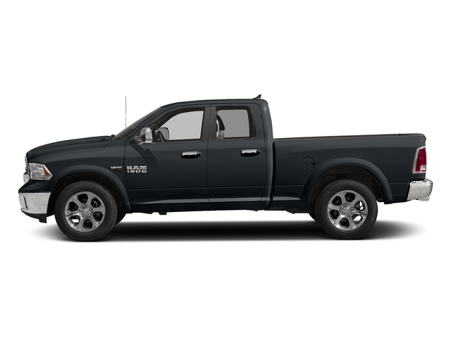Maximum Steel Metallic Clearcoat 2017 Ram Truck 1500 Pictures 1500 Laramie 4x4 Quad Cab 6'4 Box photos side view