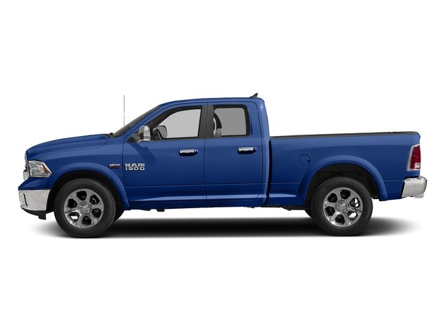 Blue Streak Pearlcoat 2017 Ram Truck 1500 Pictures 1500 Laramie 4x4 Quad Cab 6'4 Box photos side view
