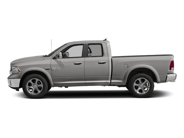 Bright Silver Metallic Clearcoat 2017 Ram Truck 1500 Pictures 1500 Quad Cab Laramie 4WD photos side view