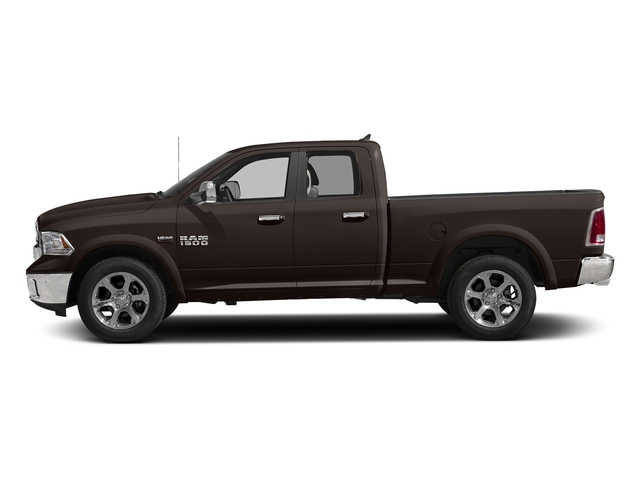 Luxury Brown Pearlcoat 2017 Ram Truck 1500 Pictures 1500 Laramie 4x4 Quad Cab 6'4 Box photos side view
